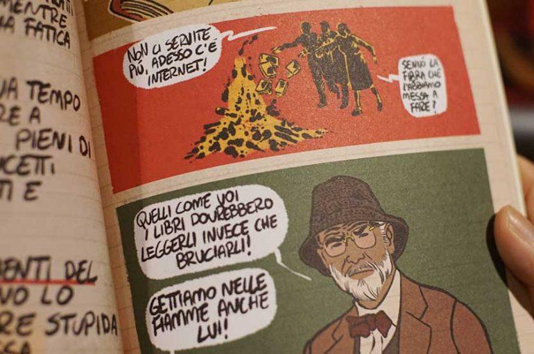 Intervista al Fumettista ROBERTO RECCHIONI