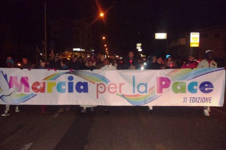 Stasera a Pescara la Marcia per la pace