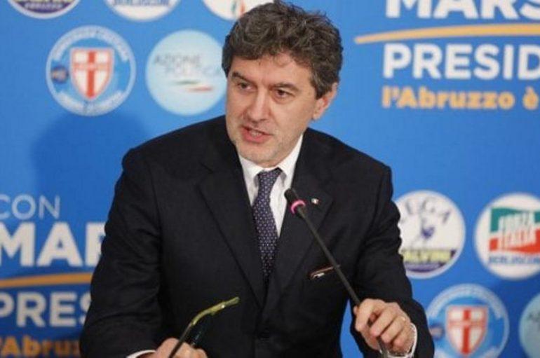 """Marsilio è il nuovo presidente della Regione Abruzzo: """"La vittoria larga ci aiuterà ad essere coraggiosi"""""""