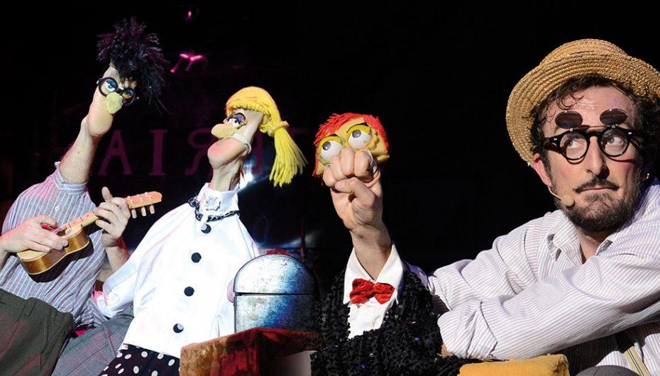 Monsieur David ed il Teatro del Piede