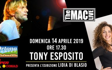Tony Esposito all'Ortona Center