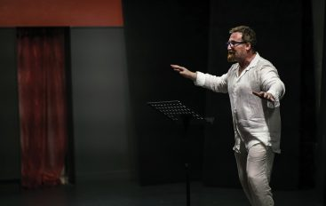 Primo Levi, il teatro e le resistenze. Incontro con l'attore Domenico Galasso.