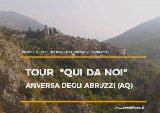 QUI DA NOI in tour ad Anversa degli Abruzzi