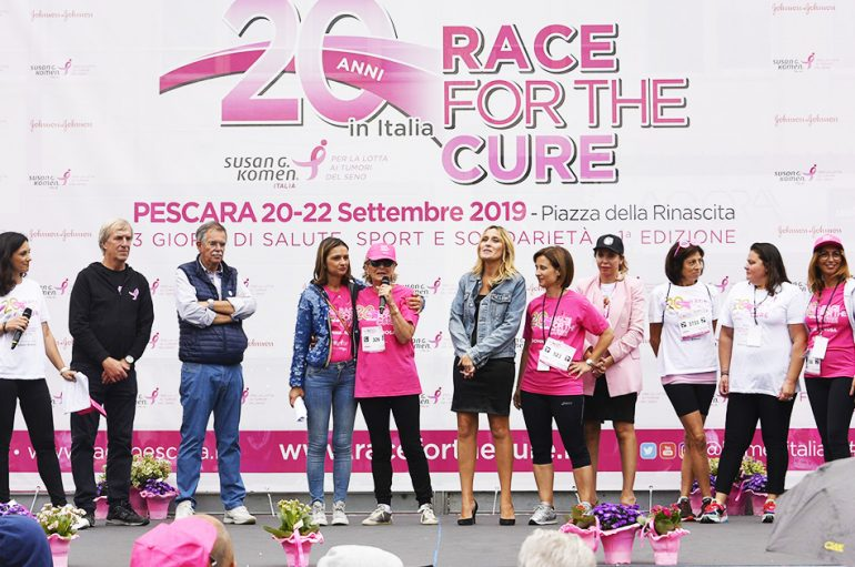 RACE FOR THE CURE oltre 5.000 iscritti a Pescara