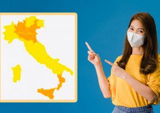 Zone Arancioni e Gialle in Italia dall'11 gennaio