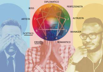 Il Ligio ed il Pensatore nell'enneagramma